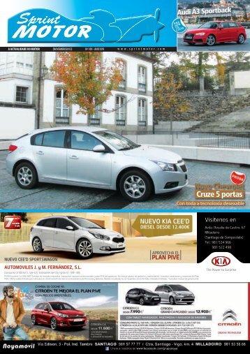 Novo Chevrolet Cruze 5 portas - Sprint Motor