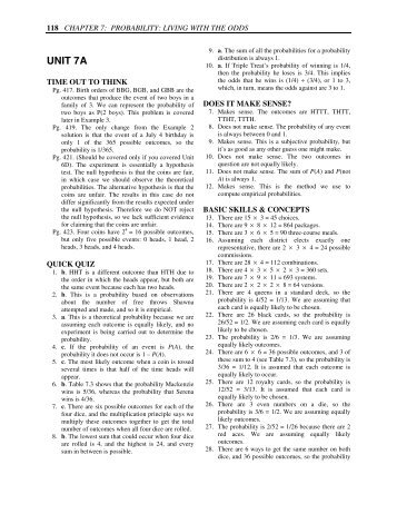 AP  Statistics Quiz B          Chapter      Magazine with   pages  AP