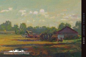 2009 Annual Report - American Farmland Trust