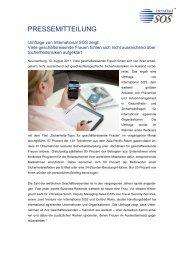Umfrage von International SOS zeigt - C&C Contact & Creation Gmbh