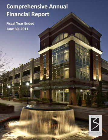 Comprehensive Annual Financial Report (CAFR) - City of Spartanburg