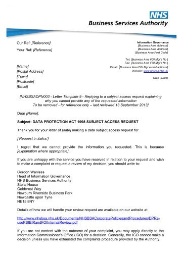 data protection replying to a subject access request