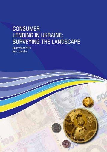 Consumer Lending in Ukraine: Surveying the Landscape - FINREP