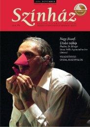 2005. november - Színház.net