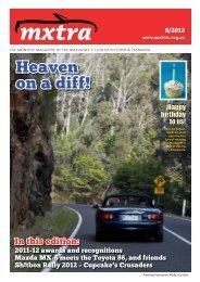 August - Mazda MX-5 Club of Victoria & Tasmania