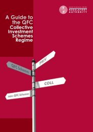 A Guide to the QFC Collective Investment Schemes Regime