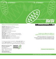 was ist migränomit - MSE Pharmazeutika GmbH