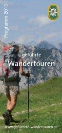 Download Komplettprogramm 2013 als (PDF) - Geführte ...