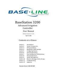 BaseStation 3200 User Manual – 11.7.5.15 ... - Baseline Systems