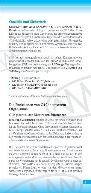 Flüssiges Ubiquinon - MSE Pharmazeutika GmbH