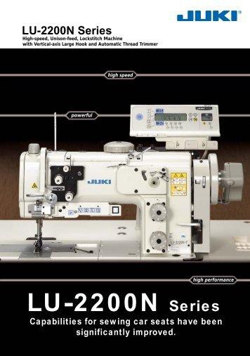 LU-2200N Series - Juki