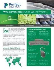Wheel Protectors® Zinc Wheel Weights - Ctequipmentguide.ca
