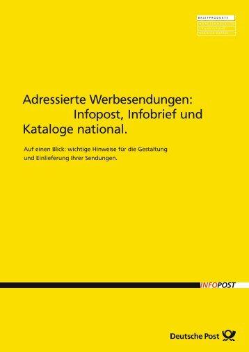 Deutsche post infobrief formular online dating
