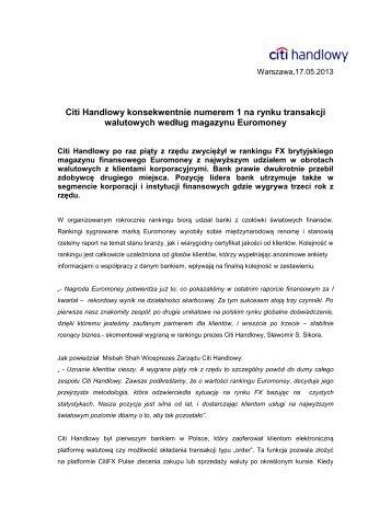 Wersja PDF (176 kB) - Citibank Handlowy