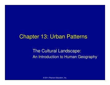Chapter 13: Urban Patterns - Mona Shores Blogs