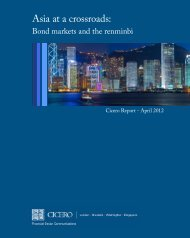 Asia at a crossroads: - Cicero Group