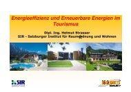 Energieeffizienz und Erneuerbare Energien im ... - bauen innovativ