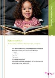 Flyer Ondersteuning ontwikkeling het jonge kind - Marant