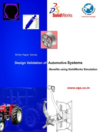 White Paper on CAE for Automotive Industry ... - EGS Computers