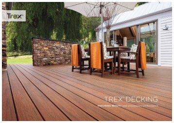 TREX® DECKING - Howarth Timber