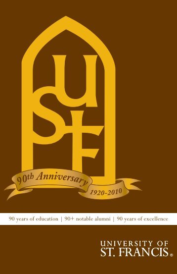 the Report (Adobe PDF) - University of St. Francis