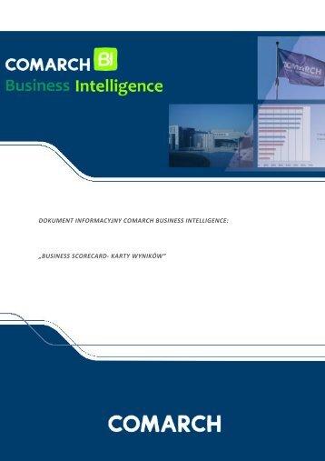 dokument informacyjny comarch business intelligence