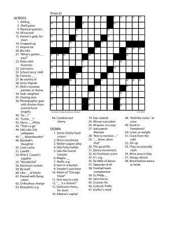9 Evolution Review Crossword