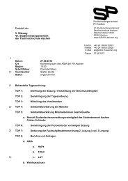 5 10 15 20 25 30 3. Sitzung 41. Studierendenparlament der ...