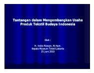 Tantangan dalam Mengembangkan Usaha ... - Indonesia Kreatif