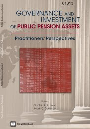 Governance and Investment of Public Pension Assets - Open ...