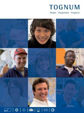 Tognum - Image Brochure - MTU Shop