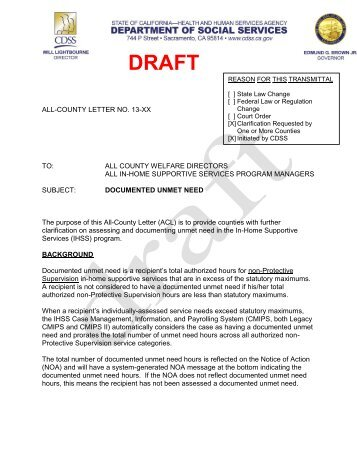 View draft ACL. - IHSS Coalition