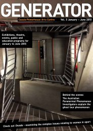 Casula Powerhouse Arts Centre Vol. 3 January – June 2013 ...