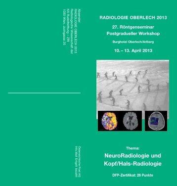 Radiologie Oberlech 2013