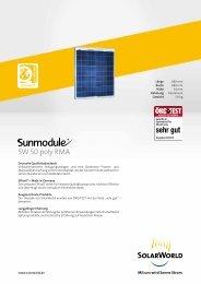 SW 50 poly RMA - Mare Solar