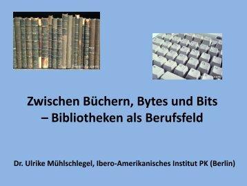 La Biblioteca del Instituto Ibero-Americano y otras ... - Laifschaft
