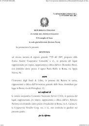 Consiglio di Stato sez. VI 7/9/2012 n. 4744. - Appalti e Contratti