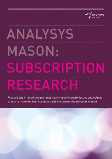 Analysys Mason Subscription Research.indd