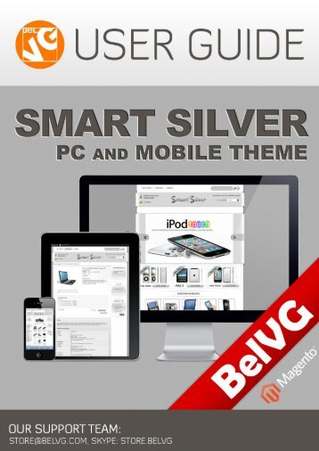 Smart Silver Theme User Guide - BelVG Magento Extensions Store