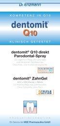 dentomit® Q10 - MSE  Pharmazeutika GmbH