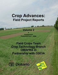Part 1 - Ontario Soil and Crop Improvement Association