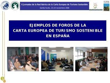 Presentación de PowerPoint - EUROPARC-España