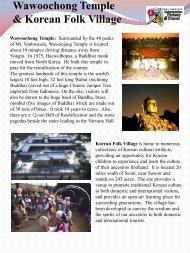 Wawoochong Temple & Korean Folk Village