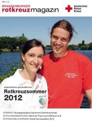 magazin - DRK Landesverband Brandenburg eV