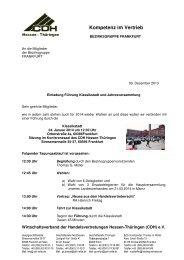 Die komplette Einladung finden Sie unter BZG Frankfurt - CDH