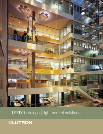 LEED® buildings  light control solutions