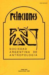 Descargar PDF (34Kb) - Sociedad Argentina de Antropología
