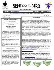 2 August 29, 2012 - Bellevue Public Schools