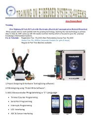 1.Project Designing & Hardware Testing(Using software) 2 ... - ARF