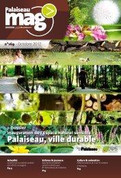 Palaiseau Mag' n°169 - Octobre 2012 - Ville de Palaiseau